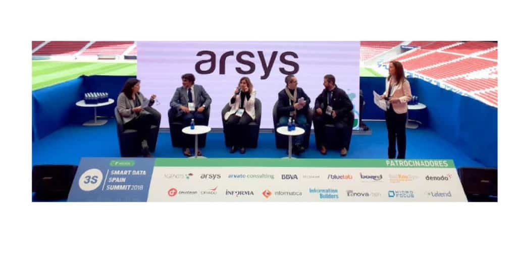mesa redonda arsys smart data summit Spain 2018