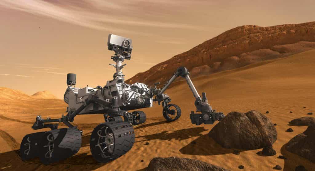 robot planetario