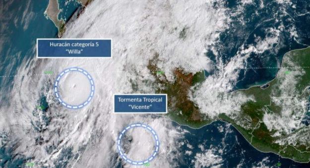 Waze brindó apoyo ante la llegada del Huracán Willa con su tecnología de geolocalización