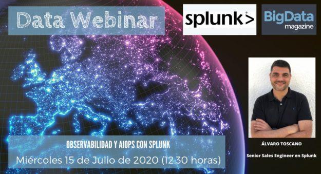 Splunk protagoniza nuestro próximo Data Webinar para hablar de observabilidad y AIOPs